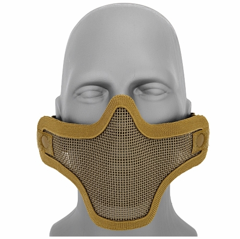 Wire Mesh Tactical Mask