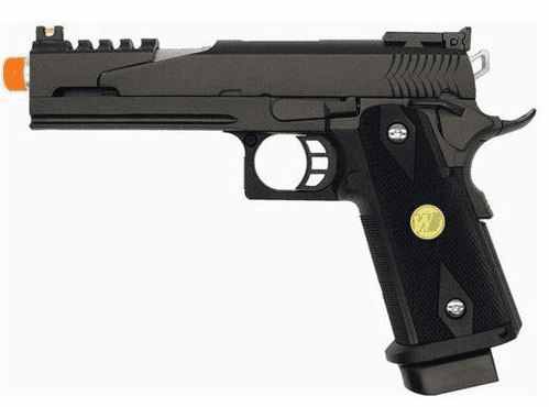 We Tech Dragon 1911 Hi-Capa Co2 GBB Pistol