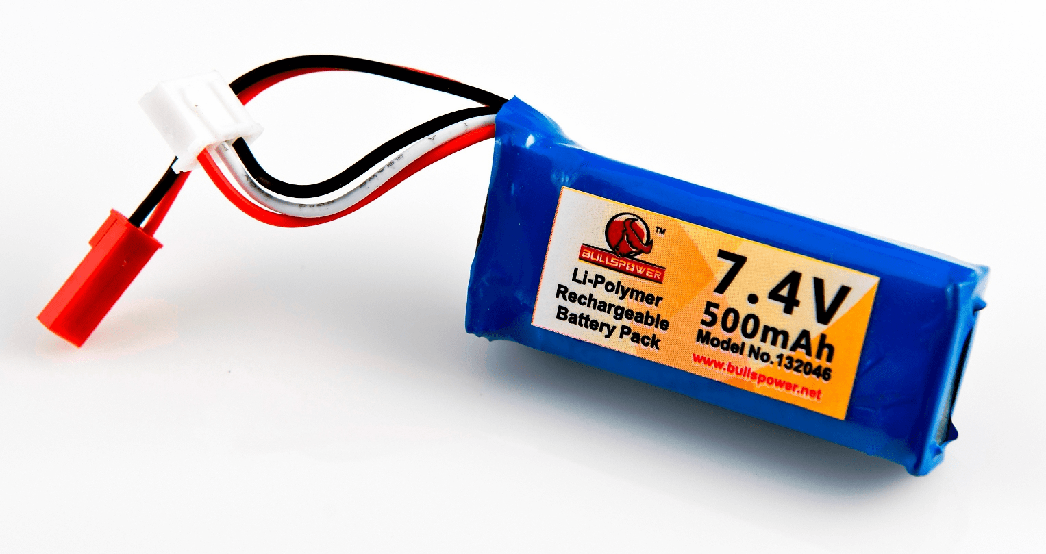 Wolverine Airsoft 7.4v 500mAh Lipo Battery
