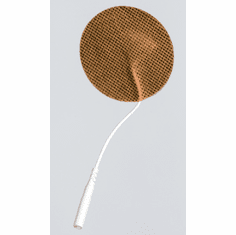 "1.25"" Round Electrodes Tan Cloth"