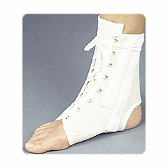 Canvas Ankle Splint with Tongue Stays