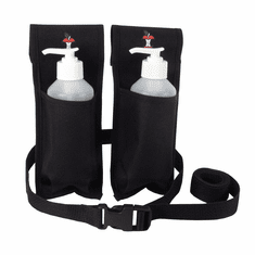 Double Oil/Lotion Holster with Bottles