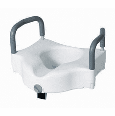Raised Toilet Seat  (Lock and Arms)