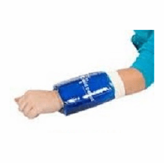 Relief Pak Cold/Hot Donut Roll-On Compression Sleeve Small