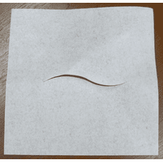 """Smooth Chiropractic Headrest Sheets with Facial Slit 12"""" x 12"""""""