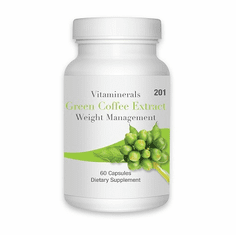 Vitamineral 201 Green Coffee Extract 60 ct