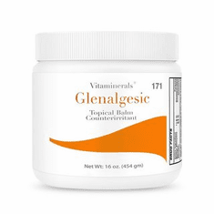 Vitaminerals 171 Glenalgesic Topical Analgesic Cream 16 oz.