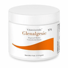 Vitaminerals 171 GLENALGESIC: Topical Analgesic Cream 4 oz.