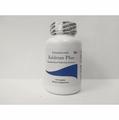 Vitaminerals 33+ BALDRIAN® PLUS: Natural Botanical Relaxant 120 count