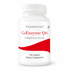 Vitaminerals 81 Coenzyme Q10 60 mg 60 count