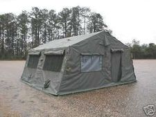 New or Used 16'x16' Frame Type Squad Tent