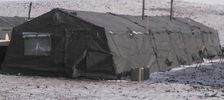 New Frame Type 16'x32' to 64' Expendable Squad Tent