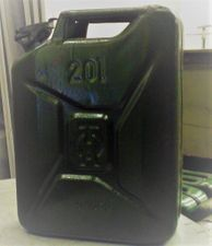 Jerry Can 5gal, Metal, 1950s