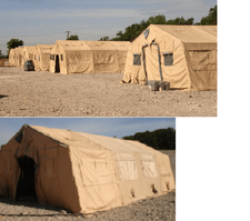 Temper Tents, Expandable Modular 20x32 to 20'x80'