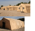 Large Temper Tents, Expandable Modular