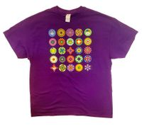 Native Suns T Shirt on Purple