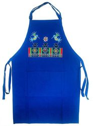 Royal Hummingbird Manta Full Length Apron