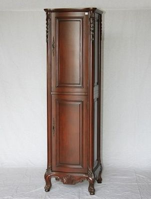 """Linen Cabinet 19""""W x 17""""D x 73""""H Cherry Color S2243505 FREE SHIPPING"""