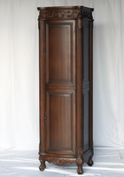 "Linen Cabinet 21'W x 18""D x 73""H Walnut Color SS2917BN FREE SHIPPING"