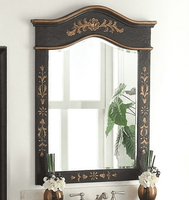 "Matching Mirror  29.5""W x 40""H Matte Black CHMR090GM FREE SHIPPING"