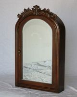 "Mirrored Medicine Cabinet 22""W x 6""D x 36""H Walnut Color S2221CH FREE SHIPPING"