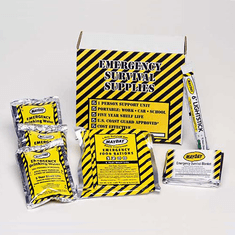 1-Day Survival Kit in a Baggie or Box