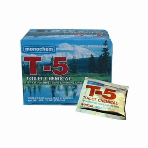 1-Pack of T-5 Toilet Chemicals