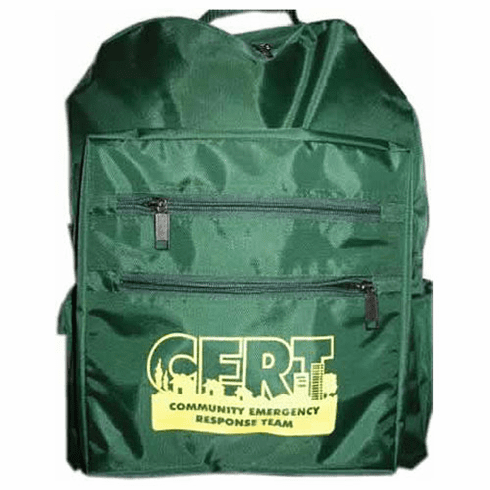 5-Compartment C.E.R.T. Green Cordura Backpack