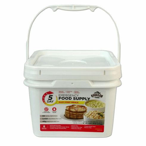Augason Farms 5-Day One Person<br> Emergency Food Supply 58 Servings