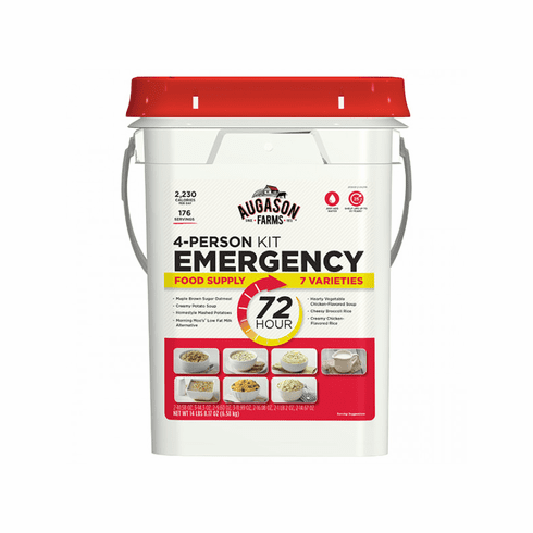 Augason Farms 72-Hour 4-Person <br>Emergency Food Supply Kit 176 Serving
