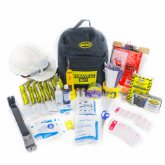 "Auto/Office / Classroom Earthquake Kit  ""EVERYTHING KIT"""