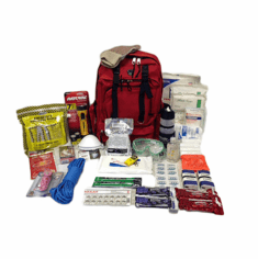 "Backpack Emergency Kits<br> Grab""n""GO"