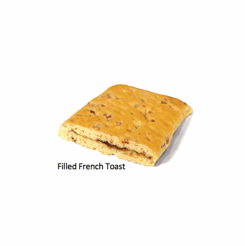 Bridgford Filled French Toast  48 Count Case