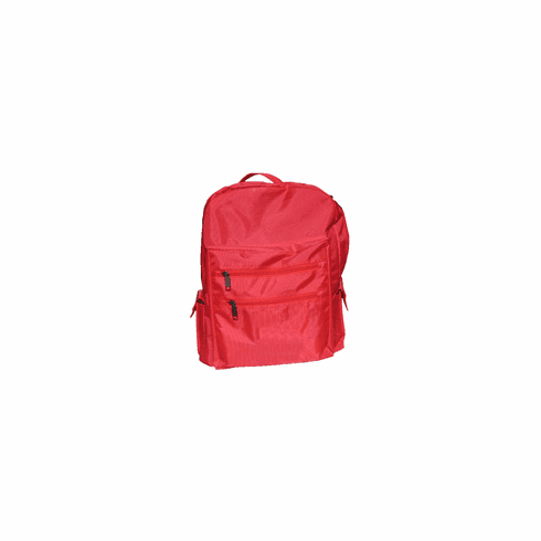 Build Your Own Survival Kit  Adult Size Back Pack Red (Nylon)