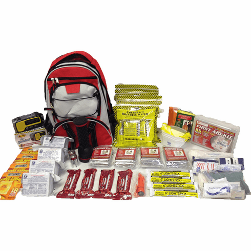 CODE RED  2 Person 72-Hour Basic Life Support Survival Kit