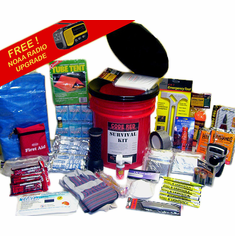 Code Red 3 Person Survival Kit (Port-A-Potti Kit)