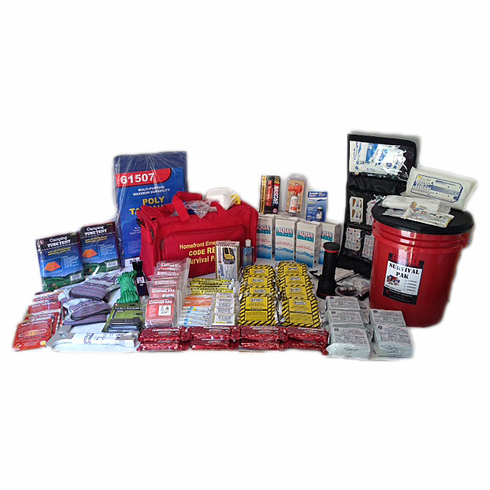 Code Red 5 Person Home or Office Elite Survival Kit