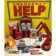 "Code Red ""DELUXE Roadside Emergency Kit"