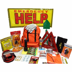 "Code-Red ""Elite"" Roadside Emergency Kit"