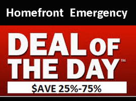 Deal of the Day  Includes - Overstocked Items - Dated - One of a Kinds - Great Bargins - Daily Super Specials - Limited Stock