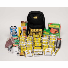 Deluxe 1-Person Emergency Backpack Survival  Kit