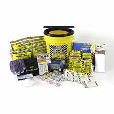 Deluxe 5 Person Home/Office Emergency Survival Kit