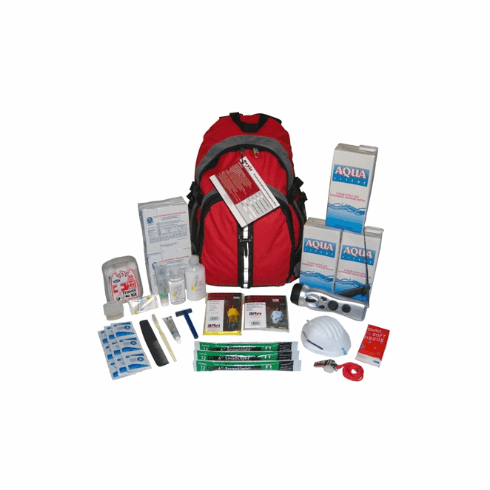 """""""Earthquake Country""""  One Person 3-Day Survival Kit"""