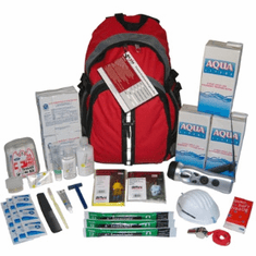 "Earthquake Survival Kits<br>Grab ""N"" Go  Kits"