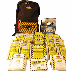 Economy 4-Person Emergency Backpack Survival Kit