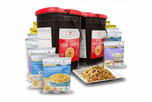 2-Month Emergency Food Kit Special<br> Entree's-Breakfast-Deserts & Snacks<br>Save 30% While Supplies Last<br>340 Servings