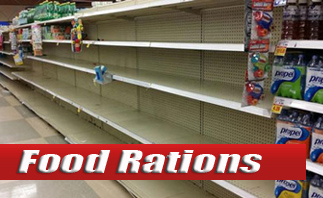 Food Bar Rations<br> Water & Supplies
