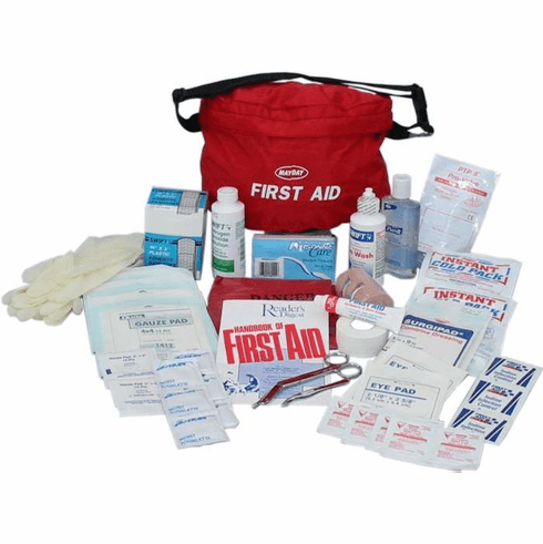 Guardian First-Aid Fanny Pack 48 Piece Kit