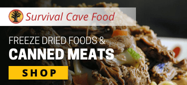 Survival Cave Freeze Dried Foods & Canned Meats