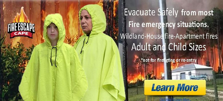 Protect your family with the new Fire Escape Cape